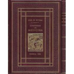 Compendio de Medicina. Venecia 1500.  2 tomos I /. Facsimil  II/. Transcripción