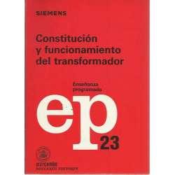 Constitución y funcionamiento del transformador