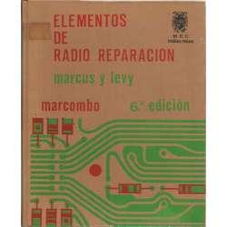 Elementos de radio reparación