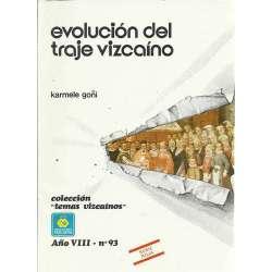 Evolución del traje vizcaíno