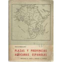 Plazas y provincias africanas españolas