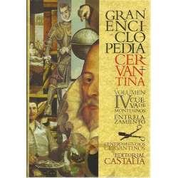 Gran enciclopedia cervantina. Volumen IV: Cueva de Montesinos - Entrelazamientos