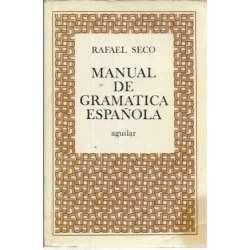 Manual de gramática española