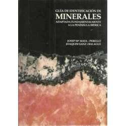 Guía de identificación de minerales adaptada fundamentalmente a la península ibérica