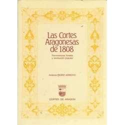 Las Cortes Aragonesas de 1808. Pervivencias forales y revolución popular