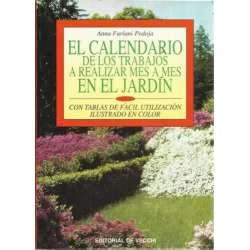 El calendario de los trabajos a realizar mes a mes en el jardín