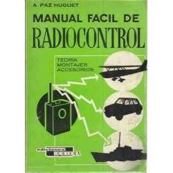 Manual fácil de radiocontrol. Teoría, montajes, accesorios