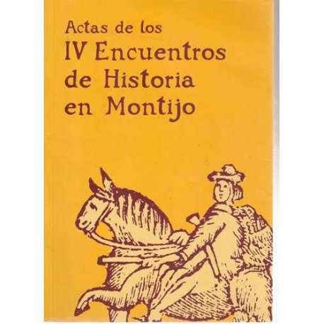 Actas de los IV encuentros de Historia en Montijo