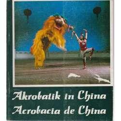 Akrobatik in China. Acrobacia de China