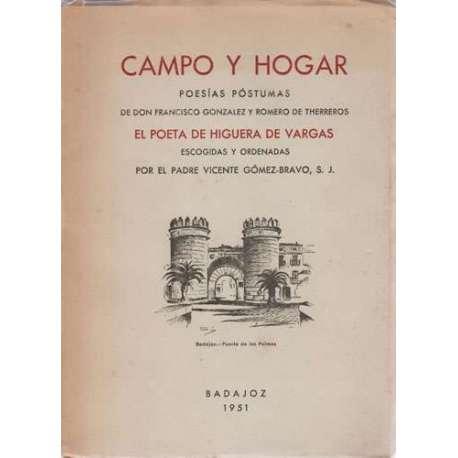 Campo y hogar. Poesías póstumas
