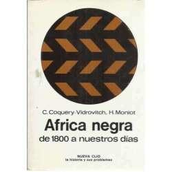 África negra, de 1800 a nuestros días