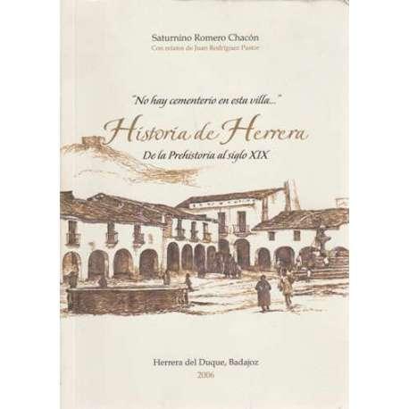 Historia de Herrera. De la Prehistoria al siglo XIX
