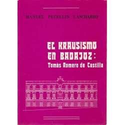 El Krausismo en Badajoz: Tomás Romero de Castilla