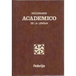 Diccionario académico de la lengua