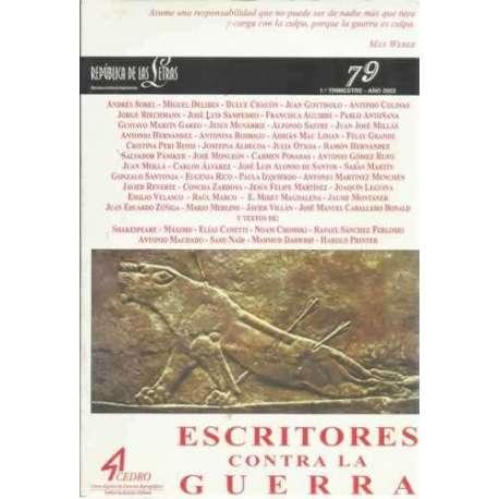 República de las Letras, Nº79: Escritos contra la guerra