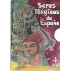 Seres mágicos de España. 3 tomos. Duendes, hadas y gnomos