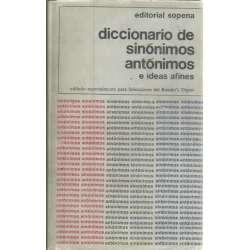 Diccionario de sinónimos y antónimos e ideas afines