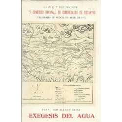 Exegesis del agua. Glosas y discursos del IV Congreso Nacional de Comunidades de Regantes