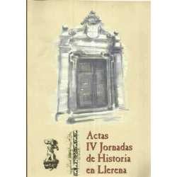 Actas IV Jornadas de Historia de Llerena