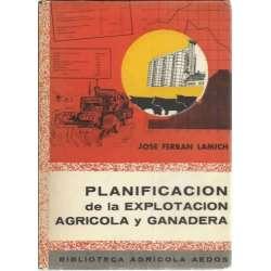 Planificación de la explotación agricola y ganadera