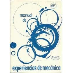 Manual de experiencias de mecánica