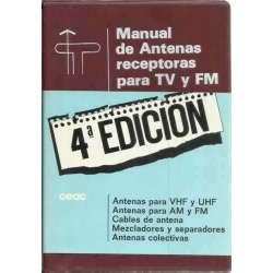 Manual de antenas receptoras para TV y FM