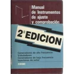 Manual de instrumentos de ajuste y comprobación