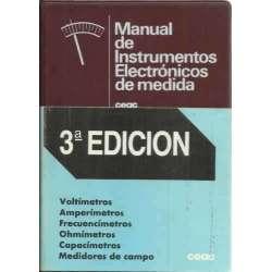Manual de instrumentos electrónicos de medida