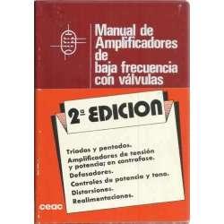 Manual de amplificadores de baja frecuencia con válvulas