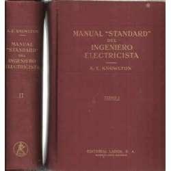 Manual Standard del ingeniero electricista. 2 tomos