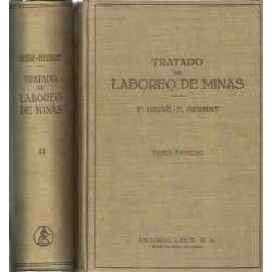 Tratado de laboreo de minas. 2 tomos