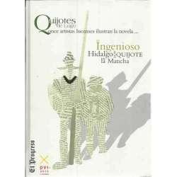 El Ingenioso Hidalgo don Quijote de la Mancha. Ilustrado por once artistas lucenses