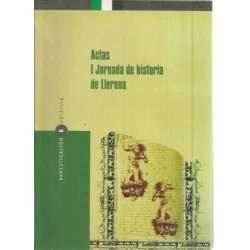 Actas I Jornada de historia de Llerena