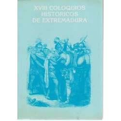 XVIII Coloquios históricos de Extremadura