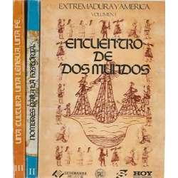 Extremadura y América. 3 Tomos