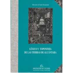 Léxico y toponimia de las tierras de Alcántara