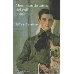 Memorias de antes del exilio 1887-1919