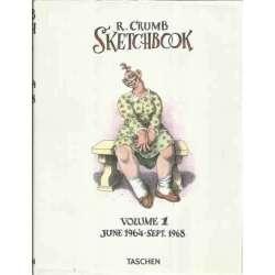 R. Crumb. Sketchbook. Volumen 1.- June 1964-Sept 1968