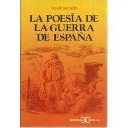 LA POESÍA DE LA GUERRA DE ESPAÑA