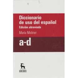 Diccionario de uso del español. Edición abreviada. 3 Tomos