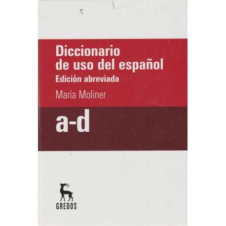 Diccionario de uso del español. Edición abreviada