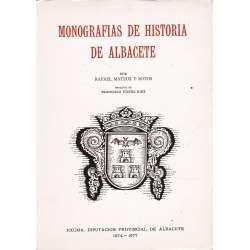 MONOGRAFÍAS DE HISTORIA DE ALBACETE.
