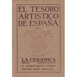 El tesoro artístico de España. La cerámica