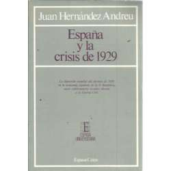 ESPAÑA Y LA CRISIS DE 1929