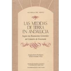 Las medidas de tierra en Andalucía según las respuestas generales del Catastro de Ensenada