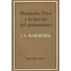 Menéndez Pidal y la historia del pensamiento