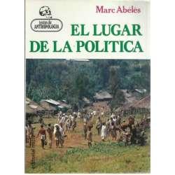 EL LUGAR DE LA POLÍTICA