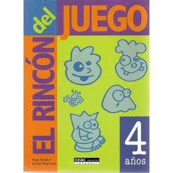 EL RINCÓN DEL JUEGO. 4 años.