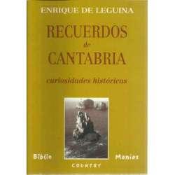 RECUERDOS DE CANTABRIA. Curiosidades históricas