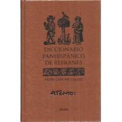 DICCIONARIO PANHISPÁNICO DE REFRANES